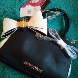 Betsey Johnson 4 in 1 Bow Satchel